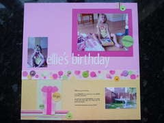 Ellie's 6th birthday party page 2