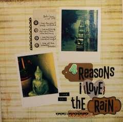 4 Reasons I {LOVE} The Rain