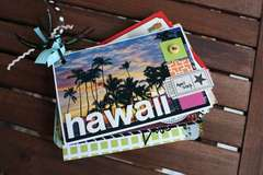 Hawaii Postcard Album