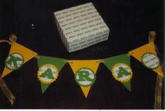 U of O banner & memory box