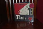 Family acrylic album(front cover)