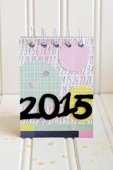 *We R* 2015 Desk Calendar