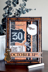 *We R* Chalkboard Halloween Countdown