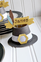 *We R* Pilgrim Hat Place Cards