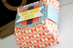 *We R* Hamburger Box Gift Card Holder