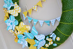 *We R* spring pinwheel wreath