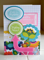 *Anna Griffin* birthday card