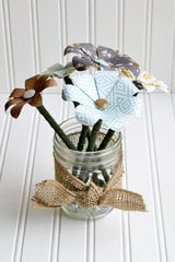 Flower Pencil Jar Teacher Gift