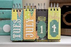 *We R* Perpetual Calendar