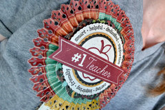 *We R* Teacher Rosette Badge