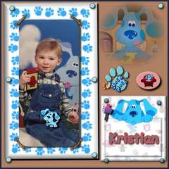 Kristian and Blues Clues