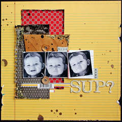 Sup? **Your Scrapbook Stash**