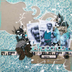 The Anticipation of Days Ahead (Your Scrapbook Stash)