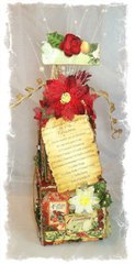 The Twelve Days of Christmas  Gift Box Decor ~Swirlydoos Kit Club