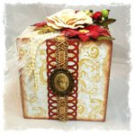 Golden Santa Gift Box ~Swirlydoos Kit Club~