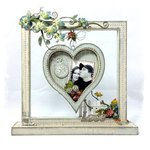 Shabby Chic Floating Heart Frame ~SWIRLYDOOS KIT CLUB~