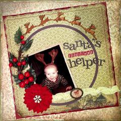 Santa's Littlest Helper **Swirlydoos Kit Club***