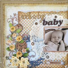 Rock-a-Bye Baby **SWIRLYDOOS KIT CLUB**