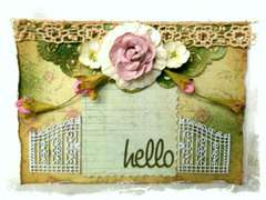 Hello Card ~Swirlydoos Kit Club~