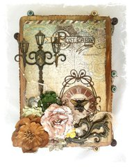 Altered Cigar Box ~Swirlydoos Kit Club~