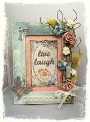Live Laugh Love Frame **SWIRLYDOOS**