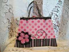 Pink/Black Purse Mini-Album