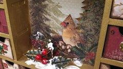 Shadowbox Advent Calendar