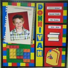 Donnivan 2nd grade