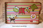 Basically Bare / Bella Blvd Blog Hop 'Christmas Fun' Mini Album Front Cover