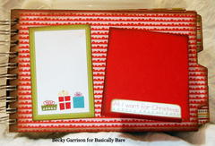 Basically Bare / Bella Blvd Blog Hop 'Christmas Fun' Mini Album Page 5
