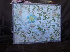 Secret Garden Shadow Box