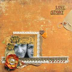 Love Story - Pencil Lines 179