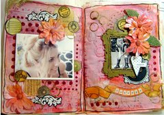 Red is for Courage Journal Pages