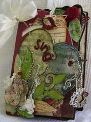 Sing Chipboard and Canvas Album