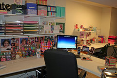 momof3girlz scrapbook room