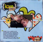 love story *october scrapmuse*