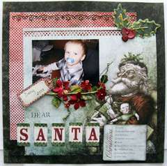 Dear Santa *My Creative Scrapbook*