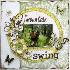 mountain swing