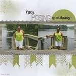 Pier Posing @ Callaway