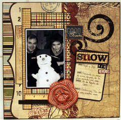 SNOW MAN MEMORIES