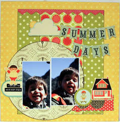 SUMMER DAYS *** THE SCRAPPIEST***