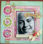 SUNSHINE MAKES ME HAPPY *** MY CREATIVE SCRAPBOOK***