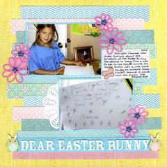 Dear Easter Bunny