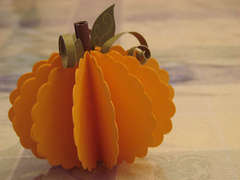 Paper Pumpkin - CTMH Workshop