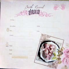 Birth Record Alexia