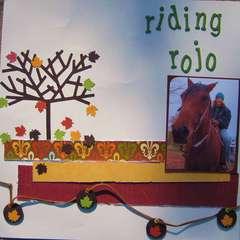 Riding Rojo page 1