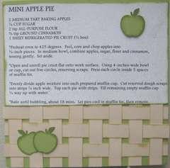Apple Recipe Card