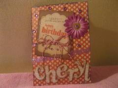 Cheryl B-Card
