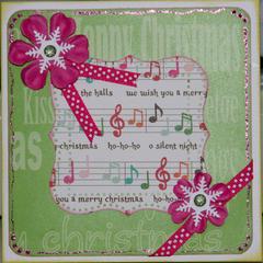 Christmas card - pink!