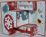 Trifold Christmas card 2